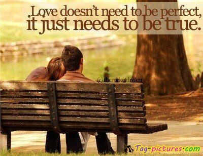 love doesn't need to be